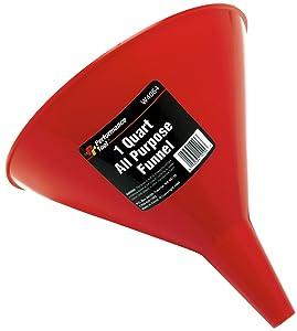 Performance Tool W4064 All Purpose Funnel, 1 Quart Capacity