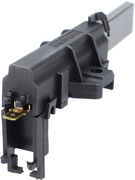 2 Kohlebürsten Waschmaschinen wie AEG  405505048//0 für  Motor:Welling