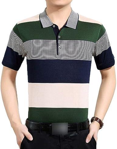 Yasminey Polo Camisa Hombre Hombre De De Manga Camisa Corta Camisa Polo Holgada Joven Camisa De Polo Camisa De Manga Corta Tops Verano: Amazon.es: Ropa y accesorios