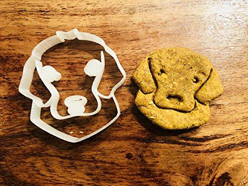 Cooca the Golden Retriever Cookie Cutter and Dog Treat Cutter - Dog Face