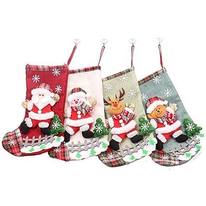 105ca87b94a Amazon.com  DotPet Cute Christmas Stocking