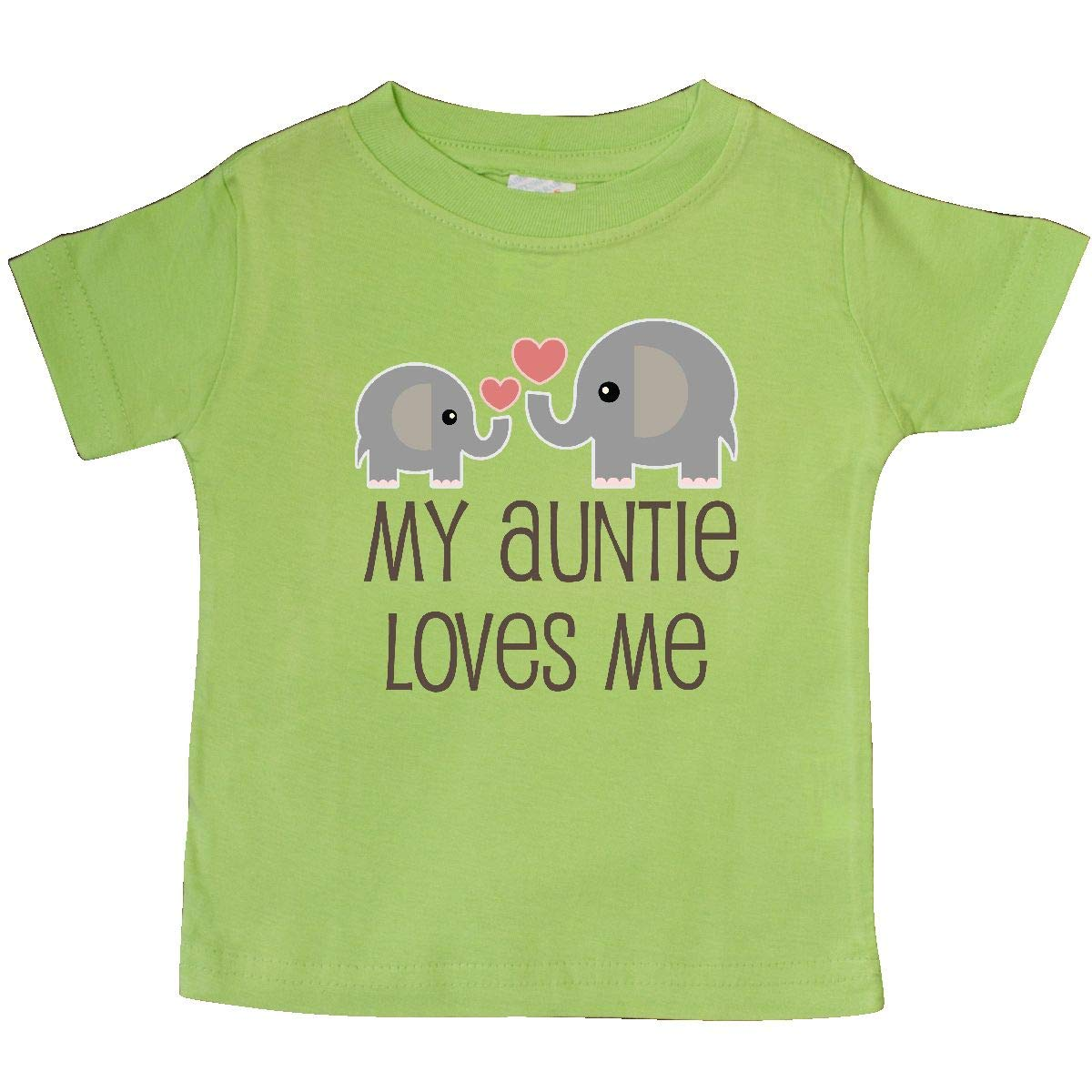 inktastic My Auntie Loves Me Baby T-Shirt