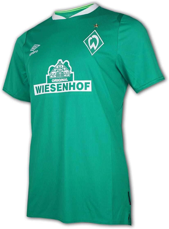 Umbro 2019-2020 Werder Bremen - Camiseta de fútbol (niños): Amazon.es: Ropa y accesorios
