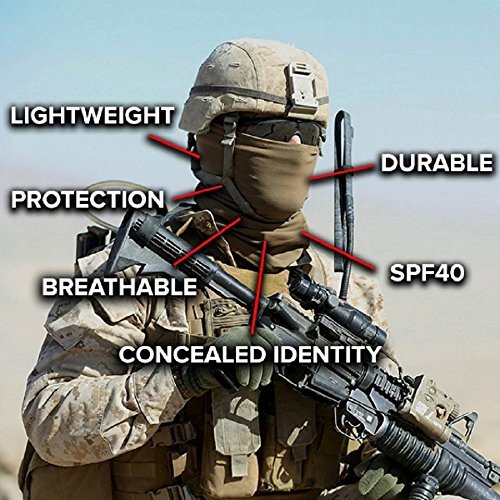 Salt Armour Face Mask Shield Protective Balaclava Alpha Defense (Clown)