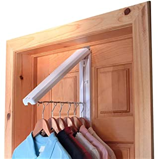 Amazoncom Anjuer Wall Mounted Drying Rack Clothes Hanger Folding