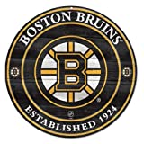 NHL Boston Bruins 87984012 Wood Sign, 19.75''