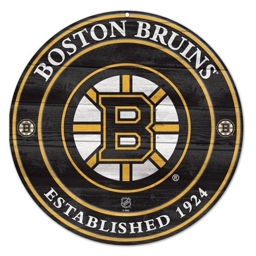 NHL Boston Bruins 87984012 Wood Sign, 19.75'' by WinCraft
