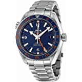 Omega Seamaster Planet Ocean GMT Good Planet Foundation Edition Men's Watch