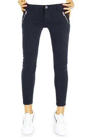 bestyledberlin Damen Slim Fit Jeans, Denim Hosen Chino Stil, Enge Baumwoll  Hüftjeans j30l  Amazon.de  Bekleidung 627c753751