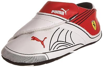 c92d1ef9265782 Puma Unisex-Adult Future Cat Remix Sf Lw Crib White-Black-Rosso Corsa
