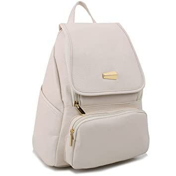 51240ef3ac1d Copi Women's Modern Design Deluxe Fashion Backpacks One Size Ivory