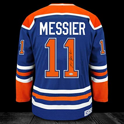 best sneakers 8f93f c7518 Mark Messier Autographed Jersey - CCM - Autographed NHL ...