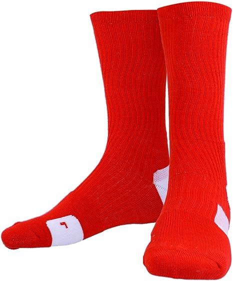 Secado R/ápido de Sudor Calcetines Toalla Tubo Al Aire Libre Calcetines De Baloncesto Atl/éticos para Hombres
