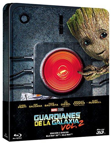 Guardians of the Galaxy Vol. 2 (GUARDIANES GALAXIA VOL.2 - BLU RAY 3D - ED.METALICA, Importé d'Espagne, langues sur les détails) (Guardianes De La Galaxia 2 En Hd)