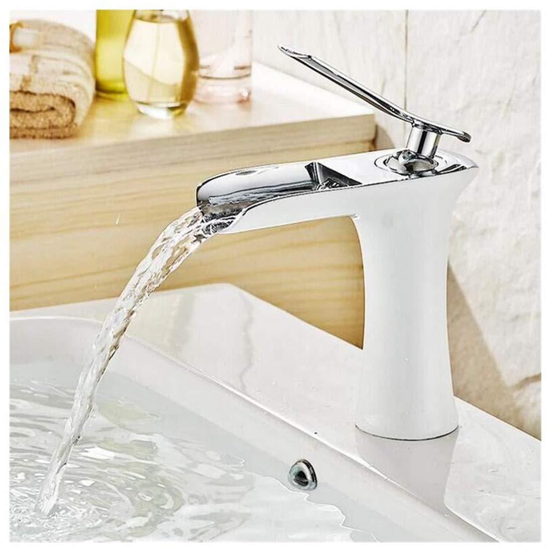 Kitchen Bath Basin Sink Bathroom Taps Faucet Washbasin Mixer Brass Waterfall Bathroom Faucet Ctzl1214