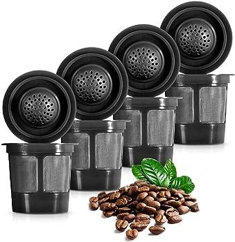 K&J Reusable Filter Cups Compatible with Keurig 1.0 K-Cups, Always best ReUsable K Cup