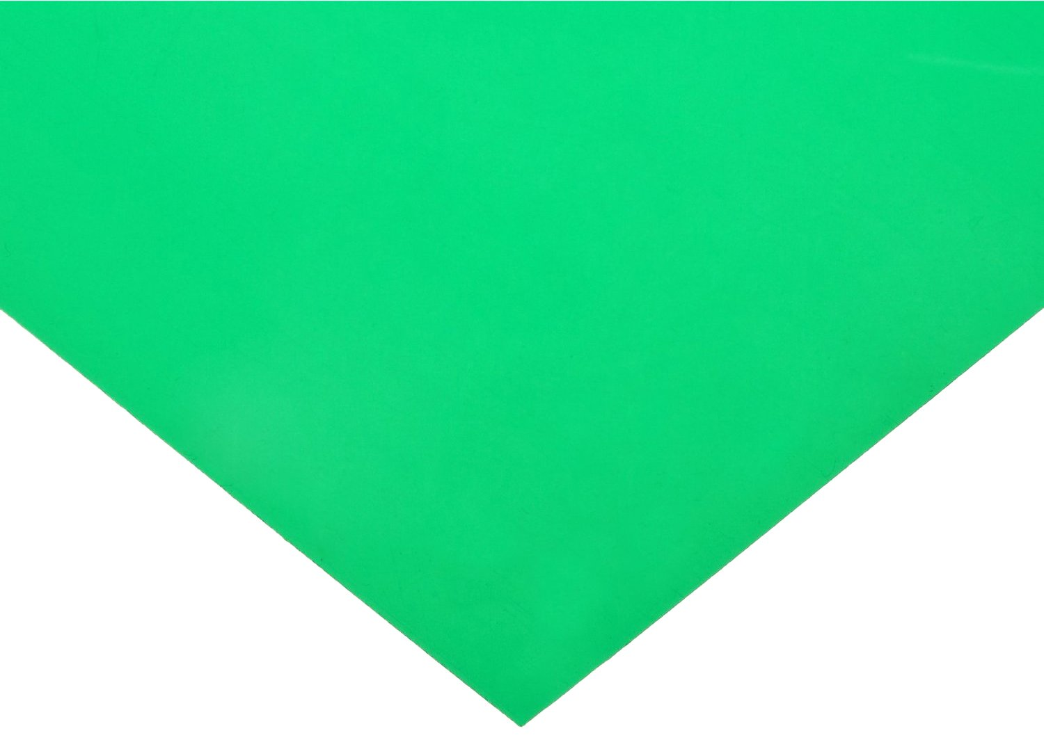 Polyester Shim Stock, Flat Sheet, Green, 0.003'' Thickness, 10'' Width, 20'' Length (Pack of 5) by Small Parts