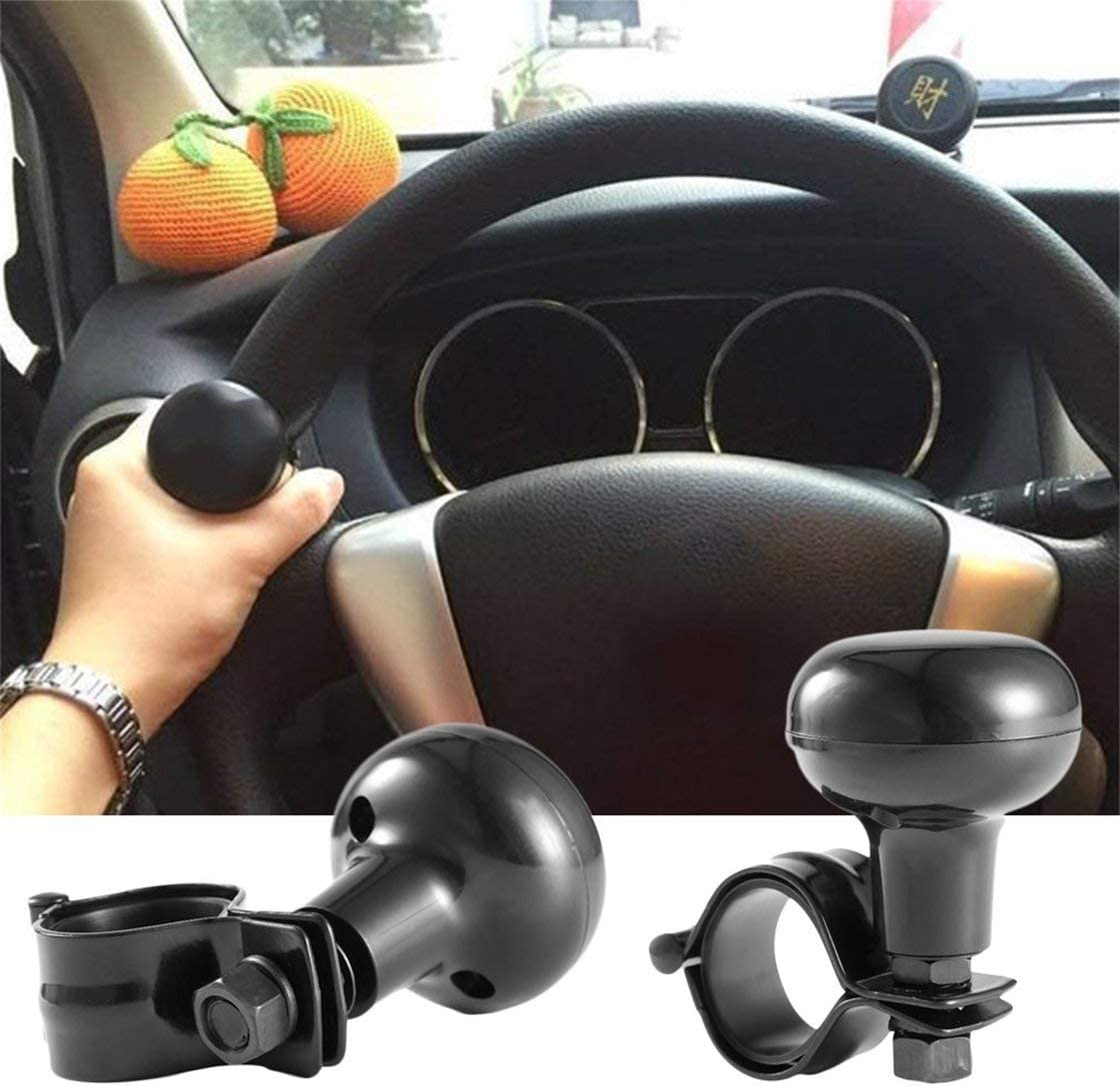 Jessicadaphne Universal Car Heavy Duty Steering Wheel Knob Spinner Handle Auto//Tractor Power Knob For Most Steering Wheels