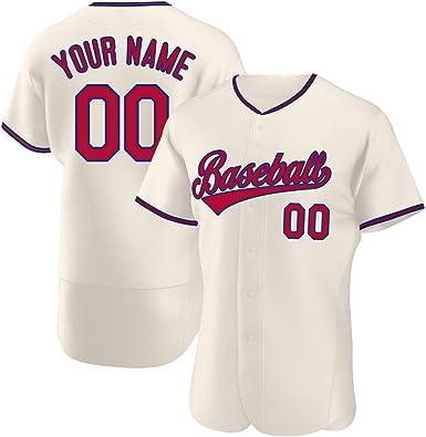 Amazon.com: Custom Baseball Jerseys for Men/Women/Boys ...