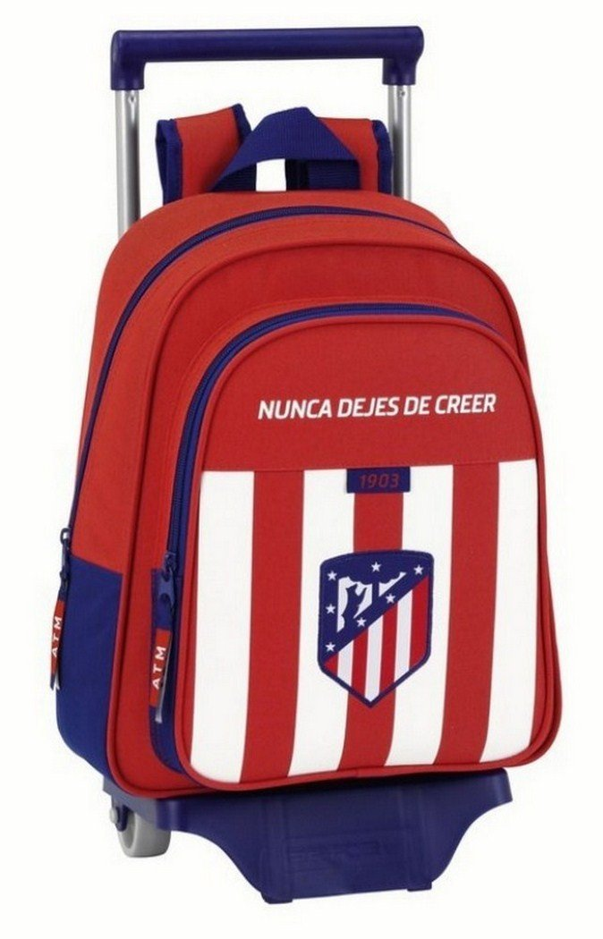 Safta Mochila Infantil Atlético De Madrid Oficial Con Carro Safta 125x95mm 611758020