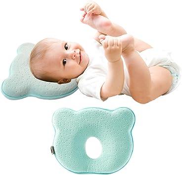 verhindert das Flacher-Kop Orthopädisches Kissen für Säuglinge und Kleinkinder