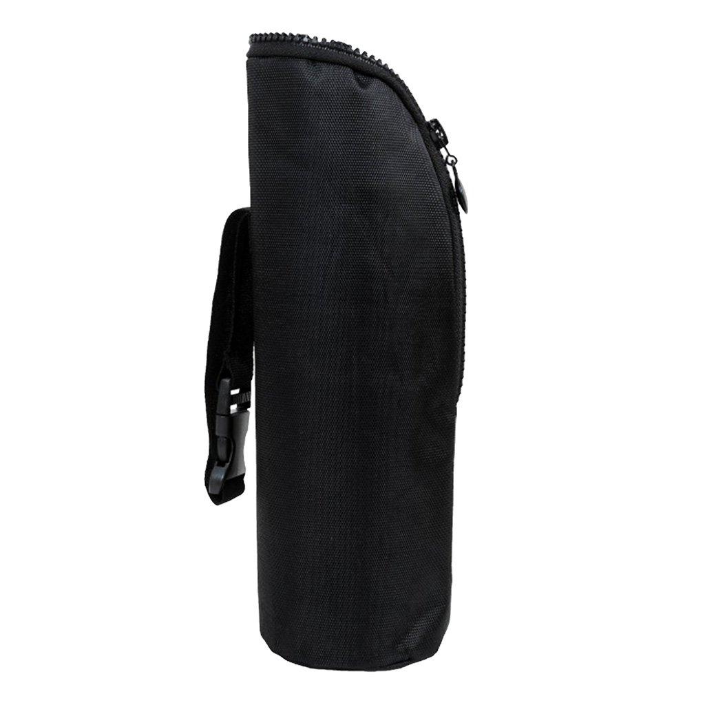 MagiDeal Natural Baby Nursing Bottle Bag Milk Bottle Warmer Insulated Tote Bag - Black Animals, as described non-brand