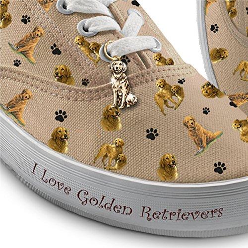 Kies De Sneakers Van Je Hondenras Voor Dames: Speelse Pups Van De Bradford Wisselen Golden Retriever Uit