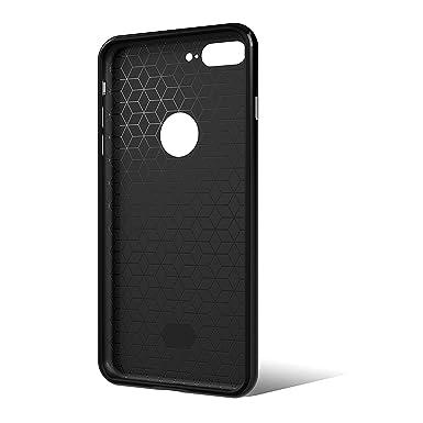 [2019 Updated] iPhone 7 Plus Case [New] Premium Luxury Slim Design Cell Phone Case [8 ft. Grade Drop Tested] iPhone 7 Plus - (Black)