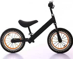 Bicicleta para niños Pista para equilibrio de 12 pulgadas para bicicletas Bicicleta de dos rondas sin pedal Caminata para entrenamiento con equilibrio Bicicleta ...