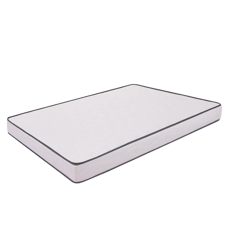 Primavera - Colchón para cama, poliuretano, 140 x 190 cm, color blanco: Amazon.es: Hogar