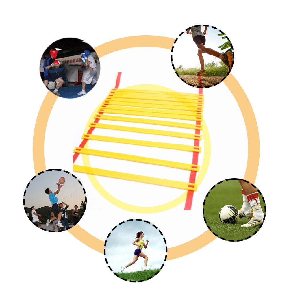4M Agility Ladder For Soccer Speed Training Durable Portable Sport Training