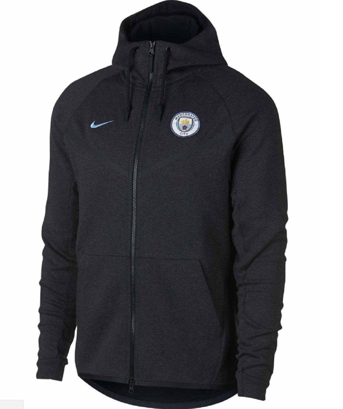 Nike Herren Manchester Jacke City Tech Fleece Windrunner Kapuzen Jacke  Manchester f4036b 3e769463aa