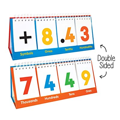 Junior Learning Place Value Flips Toy: Toys & Games