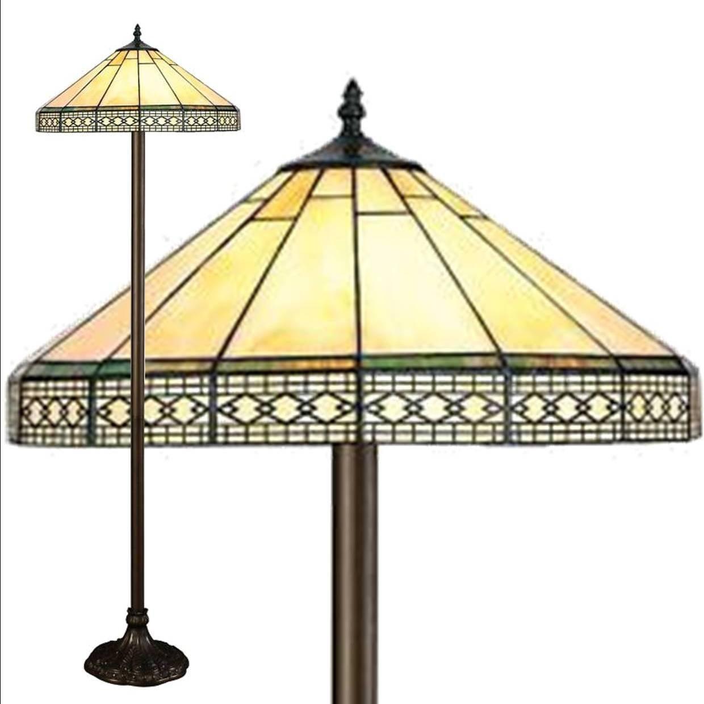 Mission tiffany floor lamp amazon lighting aloadofball Image collections