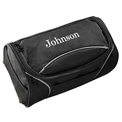 Image Unavailable. Image not available for. Color  Personalized Clever  Canvas Men s Travel Toiletry Bag 1575f4ce8a89f