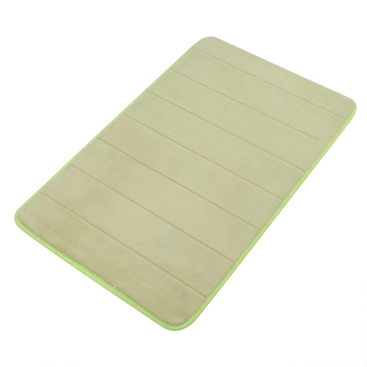 Grand Era Incredibly Soft and Absorbent Memory Foam Bath Mat, 16 x 24 inch, Soft, Non-slip, High Absorbency KYELW4060