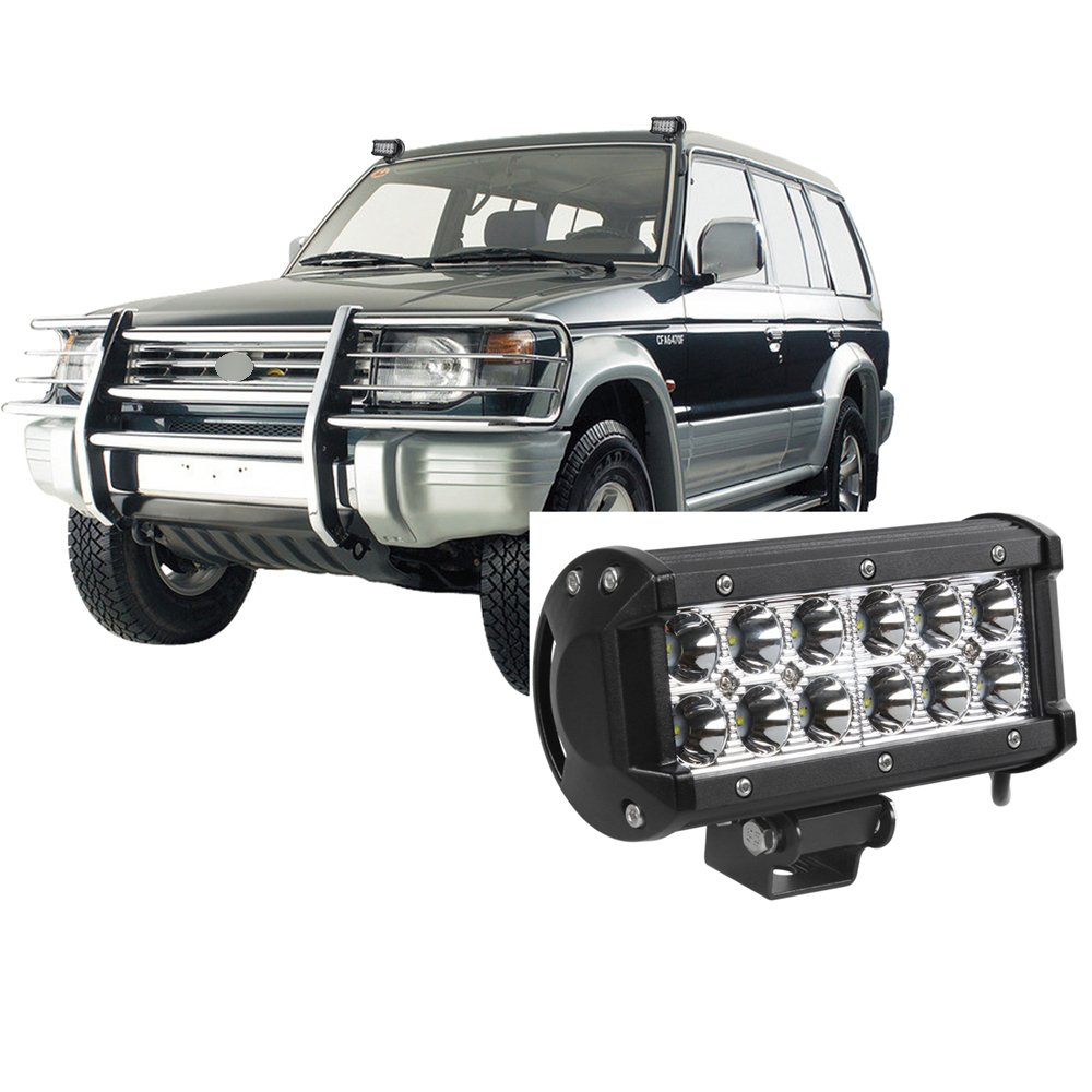 Faro de Trabajo para 12w x 3/Cree LED 3600LM 6500K Foco Luz de Trabajo para SUV ATV UTV IP68 Bytan 36w Auto Faro