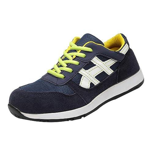 hibote Zapatillas de Seguridad para Hombre Mujer Antideslizante Calzado de Trabajo para Ligeras Comodas 37-45: Amazon.es: Zapatos y complementos