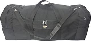 product image for BAGS USA Extra Ex Large Triple Duffle Bag with Two Separate End Compartment Great Bag for Skiing Gear.
