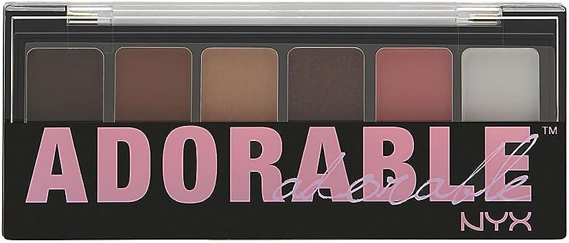 Nyx - Palette sombras de ojos the adorable professional makeup: Amazon.es: Belleza