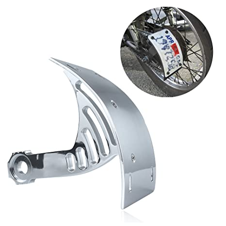 824830bd529 Amazon.com: FocusAtOne Chrome Billet Aluminum Curved Swingarm Side ...