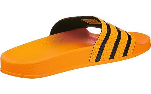 timeless design 38f87 a9d1a adidas Adilette, Pantofole Aperte sul Retro Uomo, Arancione S18Core  BlackReal