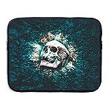 Computer Bag Laptop Case Slim Sleeve Skull Field Waterproof 13-15 inch