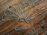 6 Inch Single Clip-on Galvanized Steel Clay Pot Hanger for Orchids and Household Plants (10)
