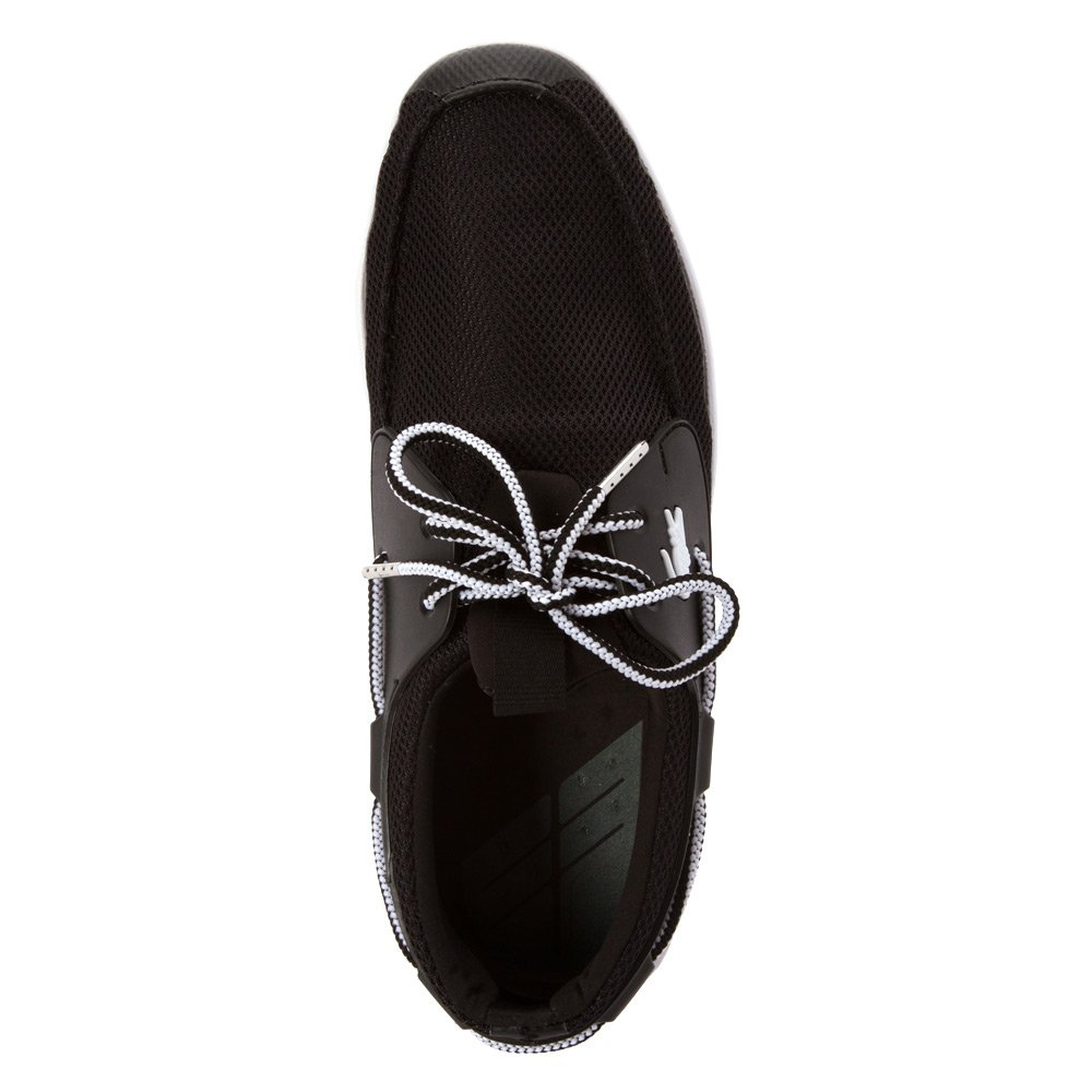 c8fefa8a4d709 Lacoste Men s L. Andsailing REI Boat Shoe Black Black 12 M  Buy Online at  Low Prices in India - Amazon.in
