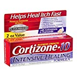 Cortizone-10 Intensive-Healing Formula 2 Ounce (Boxed) (59ml) (3 Pack) (4 Pack)