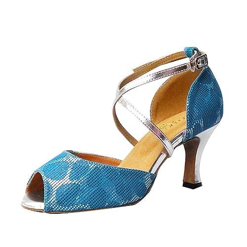 Monie Amazon es Mujer Complementos Y Zapatos Salón rrqSfOAZ 9d9fb185b52