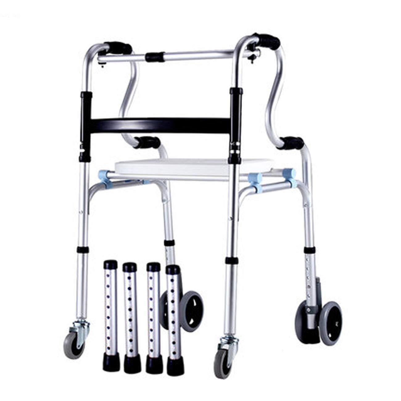 素晴らしい 高齢者ウォーカー B07L2L14D5、アルミ合金ウォーキングウォーカー B) B、キャスター付き4人乗り補助歩行器 (設計 : B) B B07L2L14D5, 豊田町:5ff84788 --- a0267596.xsph.ru