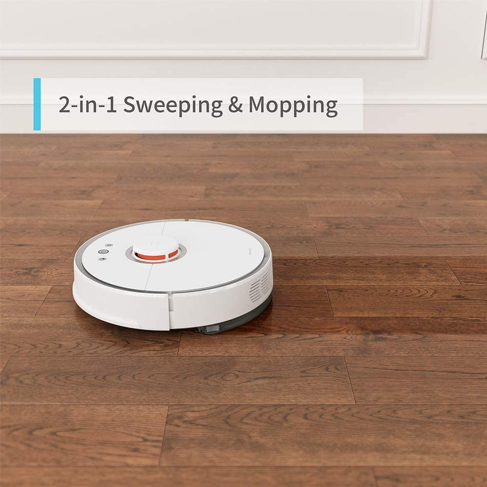 The Roborock S5 allows for both sweeping and mopping functions