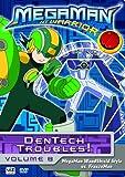 MegaMan NT Warrior, Vol. 8: Dentech Troubles! - Megaman Woodshield Style vs. Freezeman